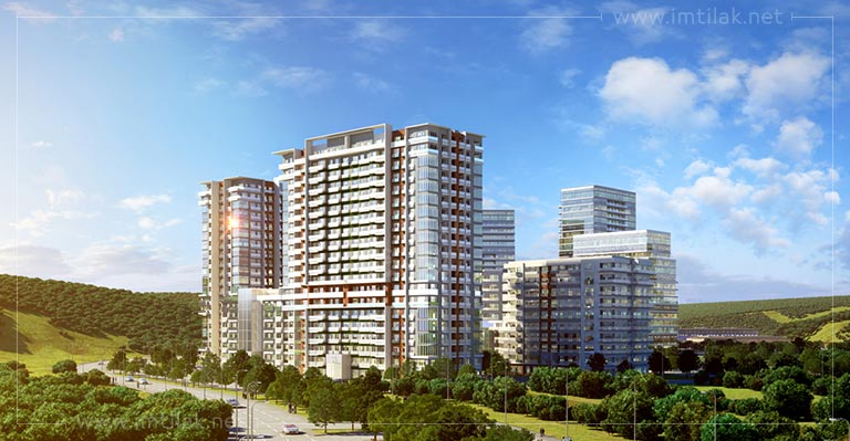 Istanbul real estate for sale European side -Istanbul Valley IMT-107