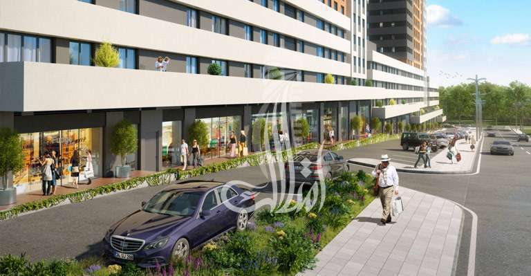 IMT-121 Bahchekent Residences  Project
