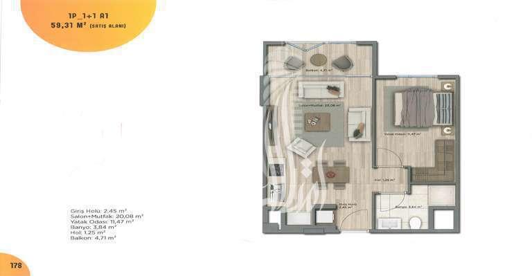 IMT-121 Bahchekent Residences  Project