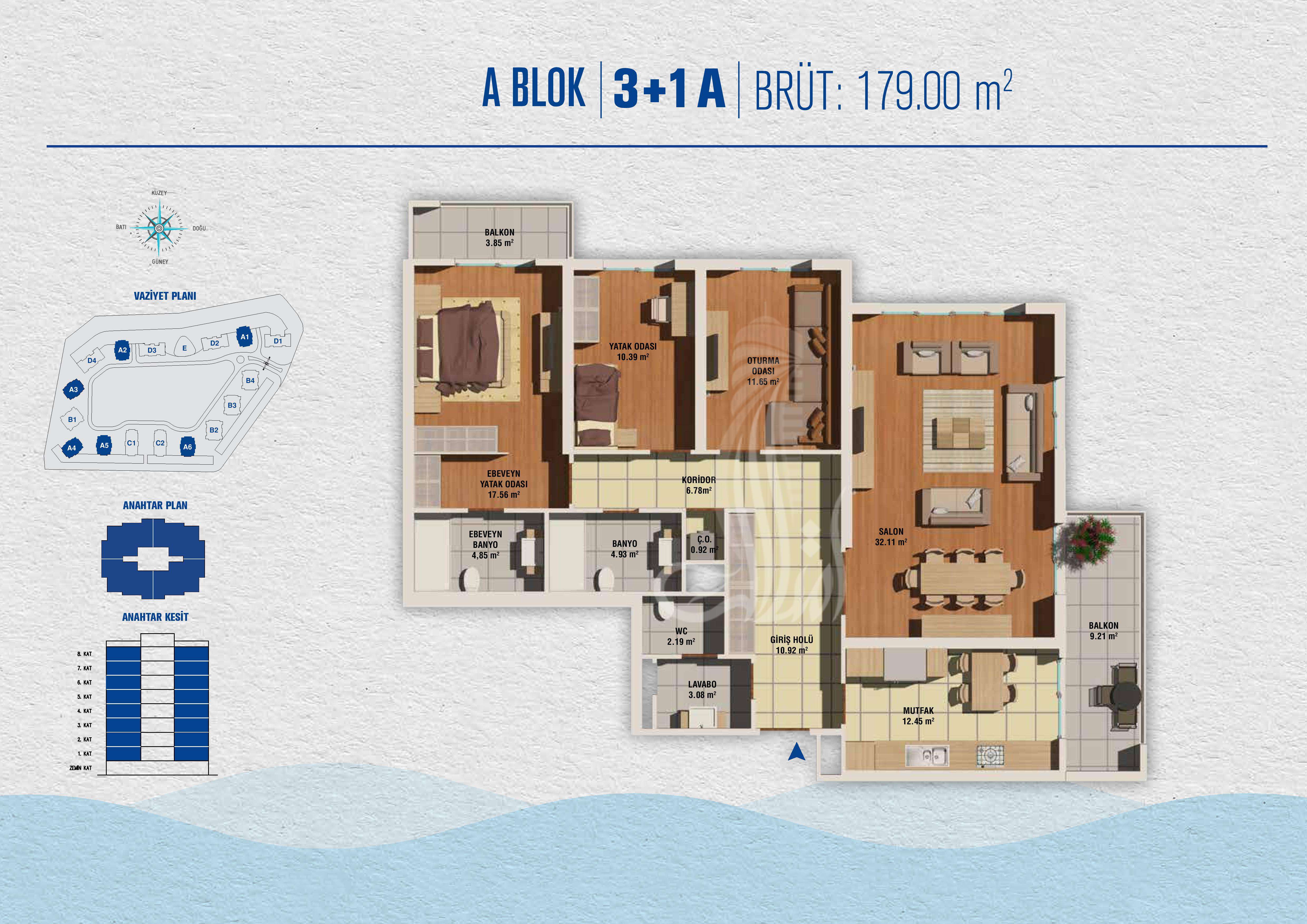 IMT-131  Buyukcekmece Towers Project