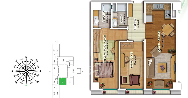 IMT-139 Quality Residence Project
