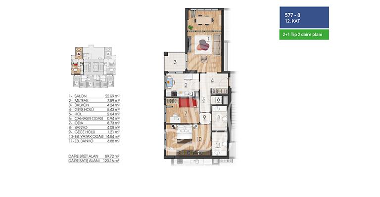 IMT-143 Bashak Residence