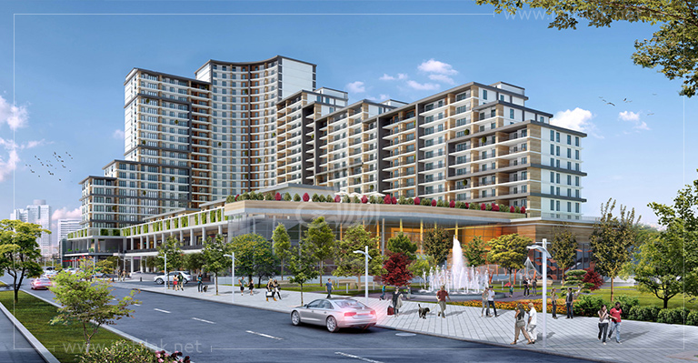 IMT-167 Central Bahcesehir Project