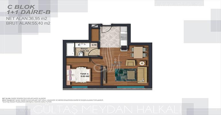 IMT-175 Halkali Residence Complex