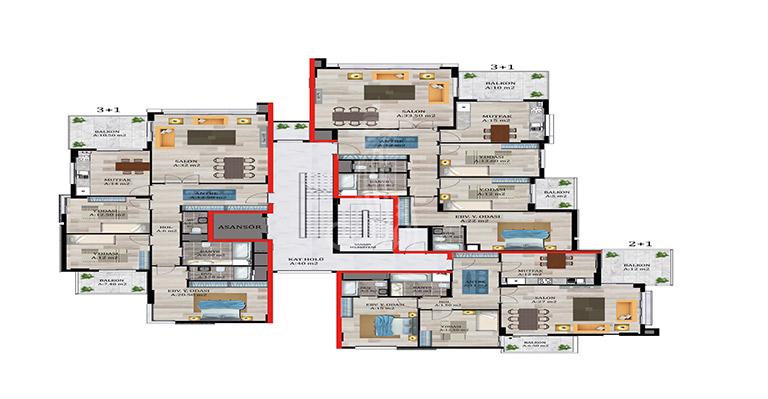 IMT-34 Konaklar Residence Project