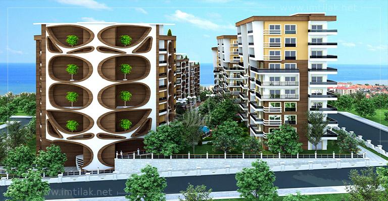 شقق للبيع في طرابزون يلنجاك - مساكن ماريا IMT-40