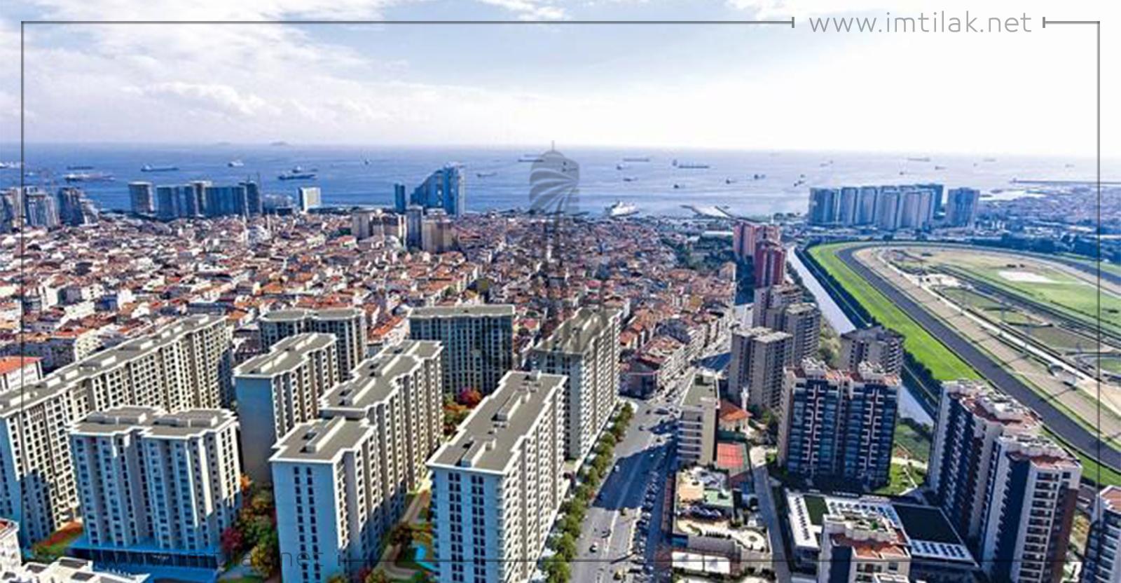 Appartements à vendre à Istanbul Zeytinburnu - IMT-193 projet Loca
