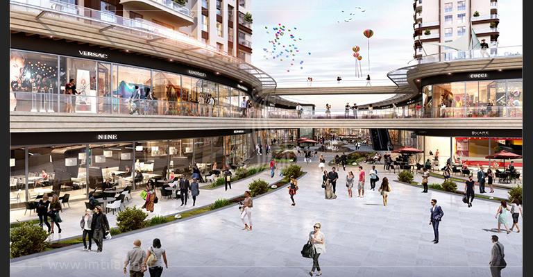 محلات تجارية للبيع في اسطنبول - محلات لاكسيرا ميدان IMT-309