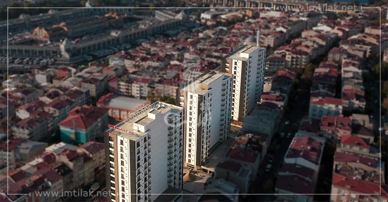 شقق للبيع في اسطنبول بيرم باشا - مجمع غلبارك IMT-196