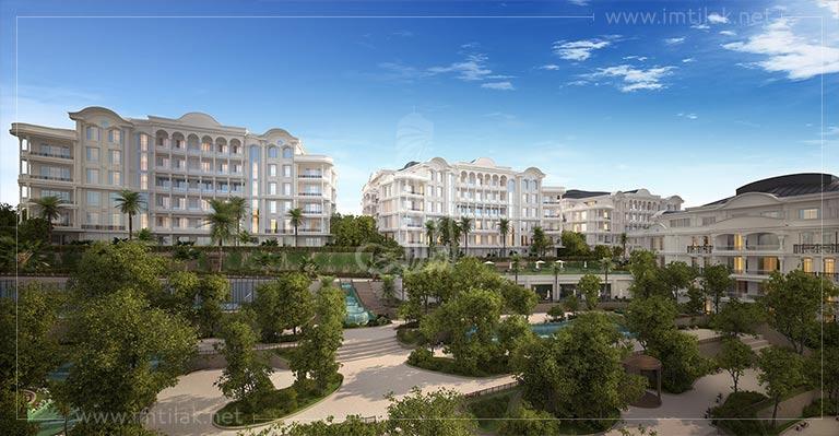 Apartments for sale in Kocaeli, Turkey - Zirai Complex IMT-600