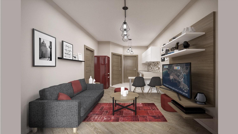 آپارتمان های فروشی در ترکیه کوجالی - کرپه  IMT-601 مجتمع نیچر