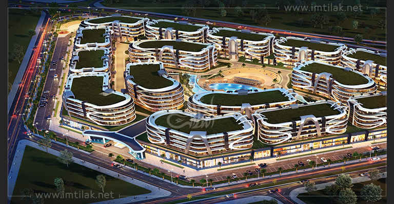 Apartments for sale in Kocaeli - Anatolia Forum Project IMT-603