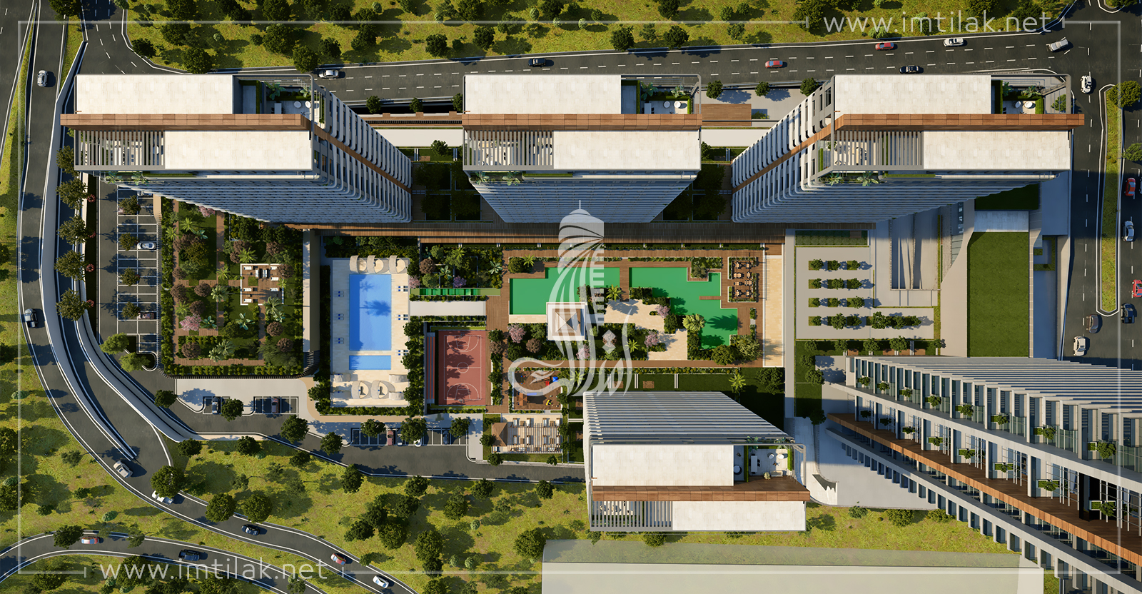 property for sale in Istanbul - E5 Towers Project IMT - 216