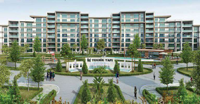 Houses For Sale In Istanbul Turkey-Metro Park Project IMT - 220