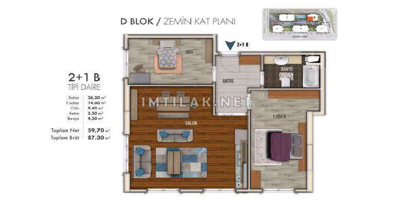 Houses In Turkey For Sale - Bakirkoy City Project