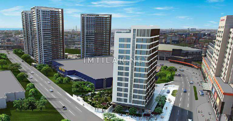 Istanbul Apartments For Sale-Bayram Pasha Towers Project