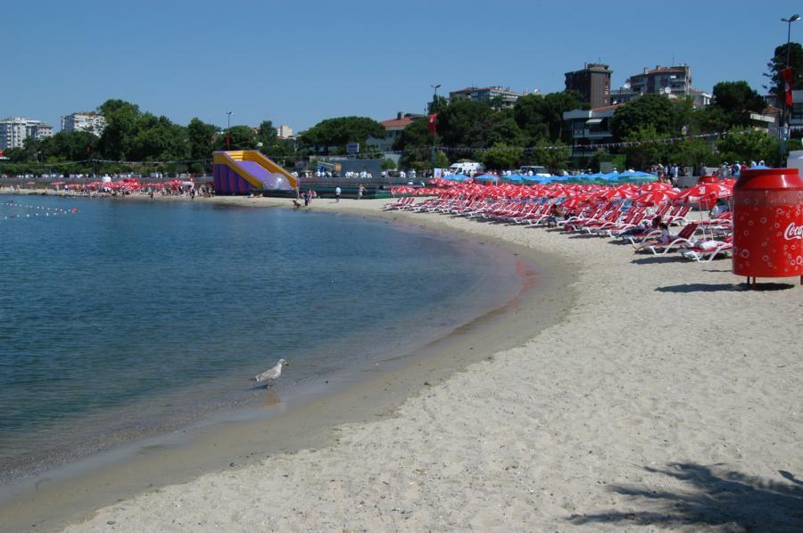 The Coast of Kadikoy Istanbul