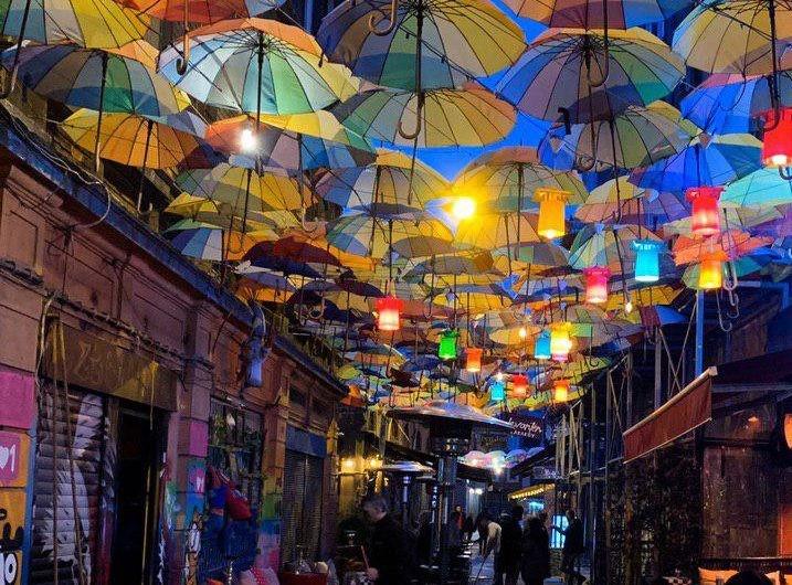 Kadikoy Umbrella Street